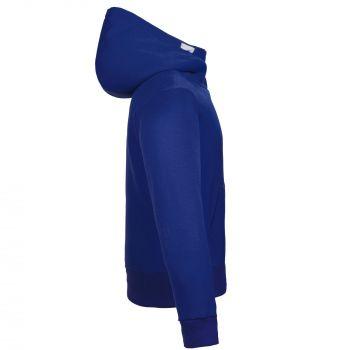 Толстовка «Kulonga Heavy Zip», мужская, синяя, вид сбоку
