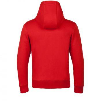 Толстовка «Kulonga Heavy Zip», мужская, красная, со спины