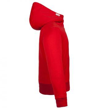 Толстовка «Kulonga Heavy Zip», мужская, красная, вид сбоку