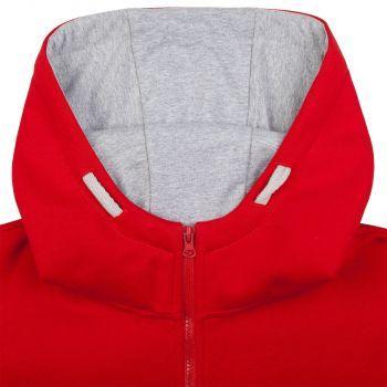 Толстовка «Kulonga Heavy Zip», мужская, красная, капюшон