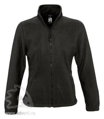 Куртка «North Women 300», женская, Sol's, Франция, черная