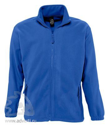 Куртка «North Men 300», мужская, Sol's, Франция, синяя