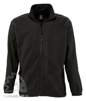 Куртка «North Men 300», мужская, Sol's, Франция, черная