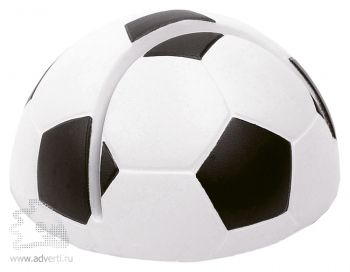 Антистресс - держатель для визиток «Футбольный мяч»