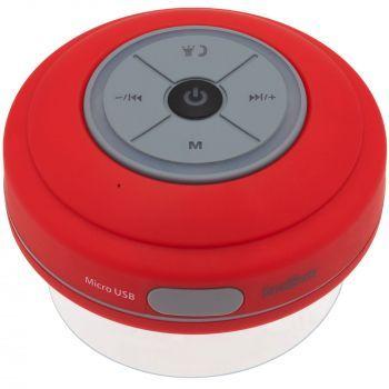 Беспроводная колонка «stuckSpeaker 2.0», красная, вид сверху