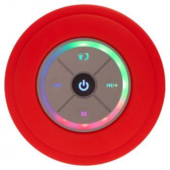 Беспроводная колонка «stuckSpeaker 2.0», красная, вид спереди