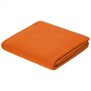 плед, оранжевый