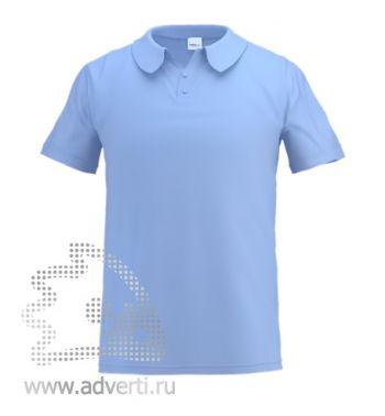 Рубашка поло «Stan Primier», мужская, голубая