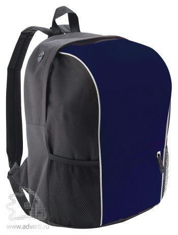 Рюкзак «Jump» со светоотражающей полосой, темно-синий