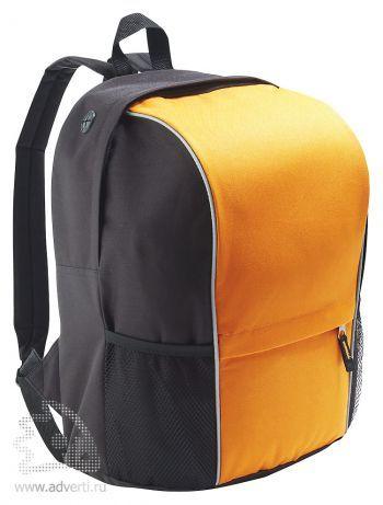Рюкзак «Jump» со светоотражающей полосой, оранжевый