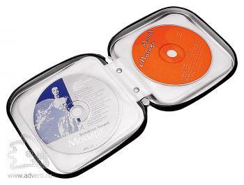 Футляр «Goods» для 16-ти CD-дисков, открытый
