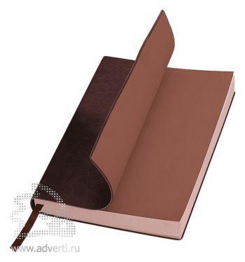 Ежедневник А5 «Soft Line», коричневый, мягкая обложка