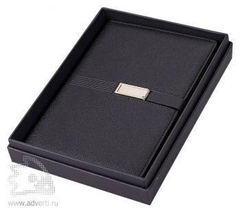 Блокнот «USB Journal» в подарочной коробке