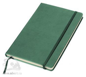 Блокнот «Essential», зеленый