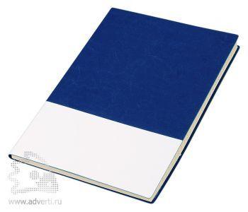 Блокнот «Fusion», синий