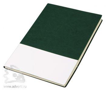 Блокнот «Fusion», зеленый