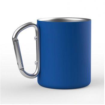 Кружка с карабином «Юта», синяя