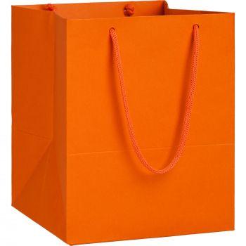 Пакет бумажный «Ample S», оранжевый