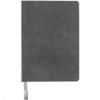 Ежедневник «Ever», недатированный, серебристый, вид спереди