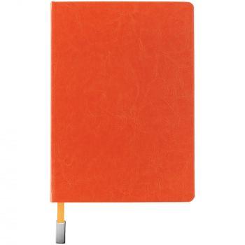 Ежедневник «Ever», недатированный, оранжевый, вид спереди