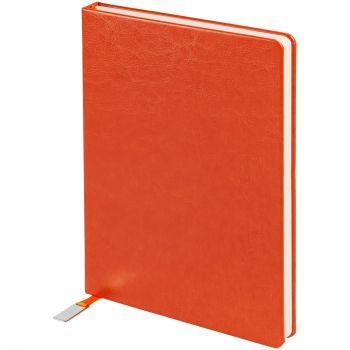 Ежедневник «Ever», недатированный, оранжевый, обрез