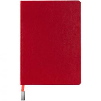 Ежедневник «Ever», недатированный, красный, вид спереди