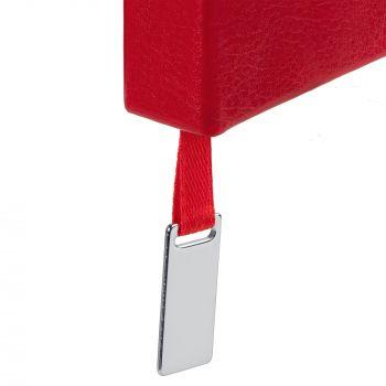 Ежедневник «Ever», недатированный, красный, шильд на ляссе