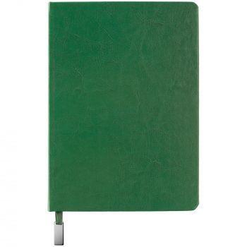 Ежедневник «Ever», недатированный, зелёный, вид спереди