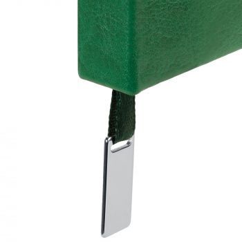 Ежедневник «Ever», недатированный, зелёный, шильд на ляссе