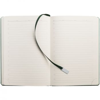 Ежедневник «Ever», недатированный, зелёный, внутренний блок