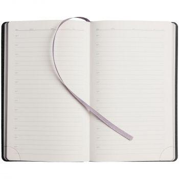 Ежедневник «My Day», недатированный, серебристый, внутренний блок