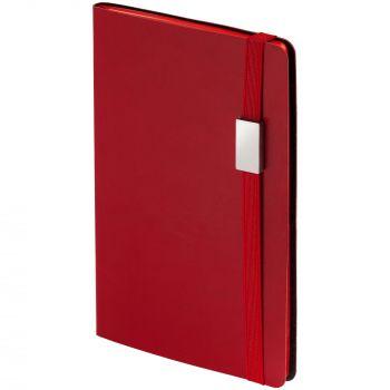 Ежедневник «My Day», недатированный, красный, обрез