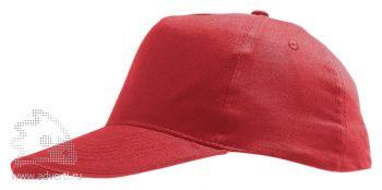 Бейсболка «Sunny», красная