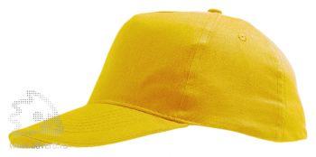 Бейсболка «Sunny», желтая