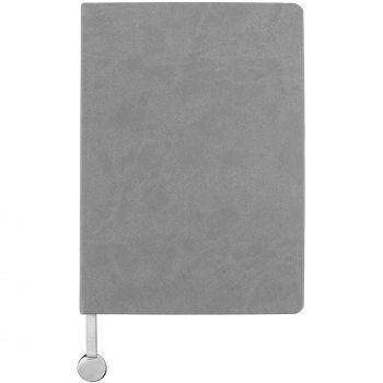Ежедневник «Exact», недатированный, серый, вид спереди