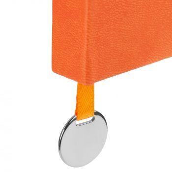 Ежедневник «Exact», недатированный, оранжевый, шильд