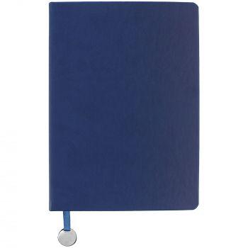 Ежедневник «Exact», недатированный, синий, вид спереди