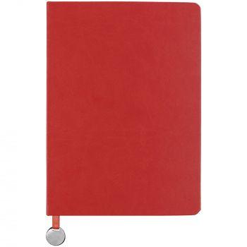 Ежедневник «Exact», недатированный, красный, вид спереди
