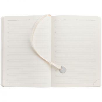 Ежедневник «Exact», недатированный, белый, внутренний блок