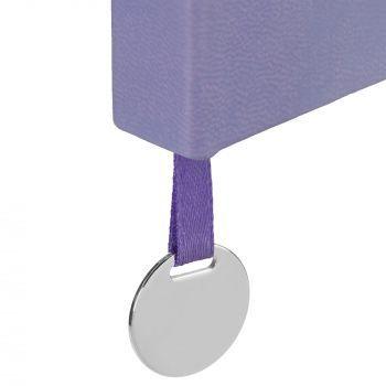 Ежедневник «Exact», недатированный, фиолетовый, шильд