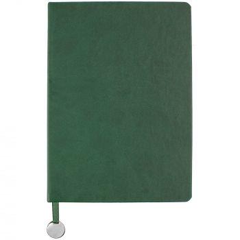 Ежедневник «Exact», недатированный, зелёный, вид спереди
