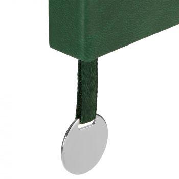 Ежедневник «Exact», недатированный, зелёный, шильд