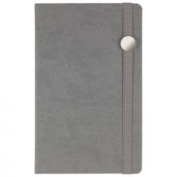 Ежедневник «Coach», недатированный, серый, вид спереди