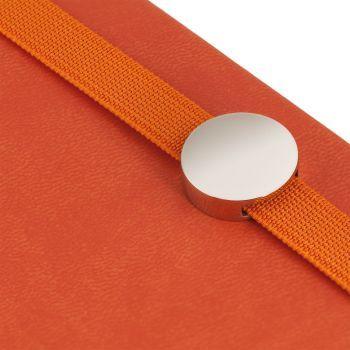 Ежедневник «Coach», недатированный, оранжевый, резинка