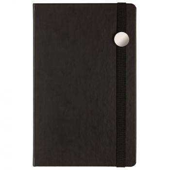 Ежедневник «Coach», недатированный, чёрный, вид спереди
