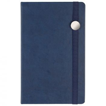 Ежедневник «Coach», недатированный, синий, вил спереди