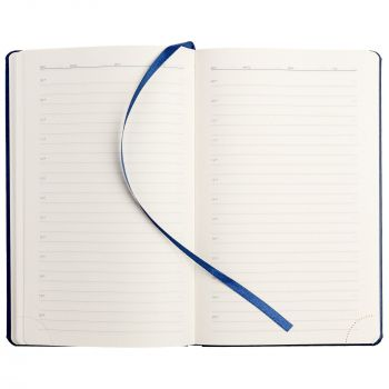 Ежедневник «Coach», недатированный, синий, внутренний блок