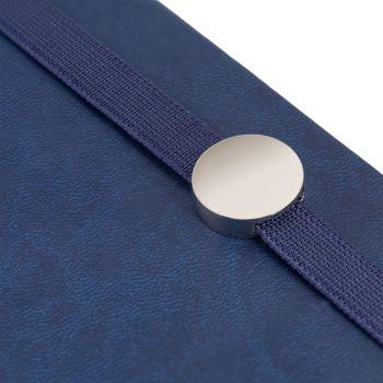 Ежедневник «Coach», недатированный, синий, резинка