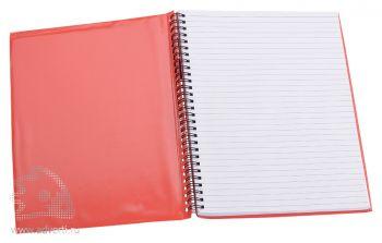 Блокнот надувной «Малокен», красный, открытый