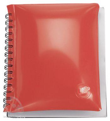 Блокнот надувной «Малокен», красный